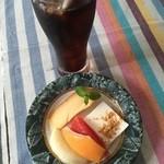 イタリアンバル SAMURAI - デザートとアイスコーヒー
