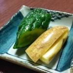 くれない苑 - 「ぺちょら漬」、ピリッと辛めの山形の伝統的な郷土料理
