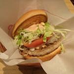 42310241 - モス野菜バーガー。360円