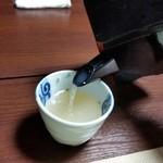 くれない苑 - ほっこりとする濃厚な蕎麦湯