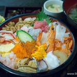 魚啓 - 海鮮丼【2015年9月】