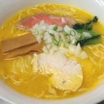 RYU-竜 - 【白湯】スープの色は、人参・じゃがいも・玉ねぎをじっくり煮込んでいるので黄色がかっています