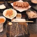 とんかつ マンジェ - 「マンジェとんかつ定食」(1,260円込み)(2015年9月)ブレない安定した美味さ。