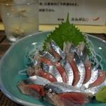 とんがらし - 料理写真:サンマ刺身