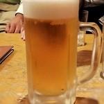 42316535 - モスクワの生ビール大780円