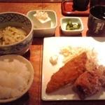 Chankoyasuzukichan - 唐揚ちゃんこ鍋定食 900円(税込)(2015年9月14日撮影)