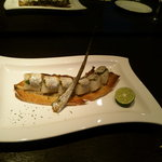 ポジティブアンバランス 歩路庵 - 太刀魚の焼き寿司