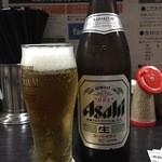 博多ラーメン よねちゃん - まずはビール