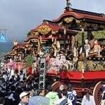近江牛と地元野菜 ダイニングMOO - 大津祭本宮の正午、当店前交差点を先頭に13基の鉾が勢揃い  ※写真は京都新聞社より拝借いたしました。