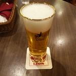 42322074 - 生ビール 小グラス