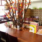 壱心茶屋 - 和む雰囲気が魅力の店内