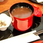 壱心茶屋 - 自家製おぜんざい