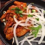 韓美膳 - 辛みそサムギョプサル