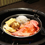 焼肉 銀座コバウ - すきやき