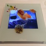 Arzak - Lobster with bee's pollen