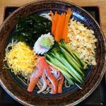 かやぶき蕎麦やぶ - 冷したぬきそば ¥1,100