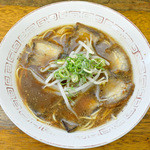 羽ノ浦中華 - 料理写真:中華そば肉入