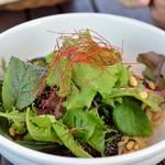 サンセット - 黒ごまジャージャー麺
