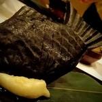 レストラン マノワ - フォアグラのたいやき