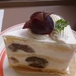 パークカフェ - ピオーネのケーキ 2015.9訪問♪