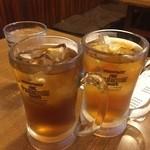 茂利屋 - ☆ウーロン茶で乾杯です(#^.^#)☆