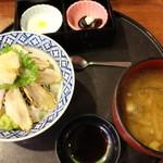 海風亭 寺泊日本海 - のどぐろ炙り丼