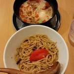 中華そば de 小松 - 冷やし坦々つけ麺※終了