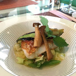 美食倶楽部 富高岩 - メインはなべたと言うお鯛に似た白身の魚