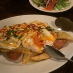 42332755 - エステルヤード(オススメ)チョリソーとポテトと卵