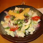 42332808 - 野菜いっぱいのサラダ