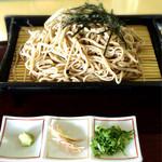 石川ゴルフ倶楽部 レストラン - ざるそば