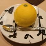 青草窠 - デザート:小夏のゼリー