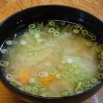 和食乃沙都使 - お味噌汁