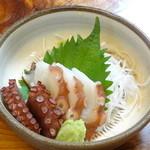 和食乃沙都使 - タコの刺身