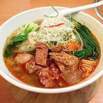 42334716 - マーラー刀削麺