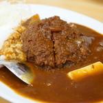 キッチンヨッチ - メンチカツカレー (¥750)