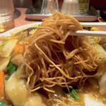 タケちゃん - 麺は細め 味のある麺でした