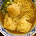沾仔記 - ワンタン麺 27H$(約419円)