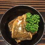 居酒屋 フルフル - アオコ味噌煮