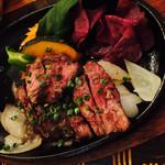 うら庭 - 牛肉ステーキ