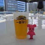 42339203 - 一番搾り生ビール 500円