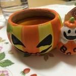 Souvenir - かぼちゃのプリン★       容器が可愛くてつい!