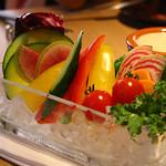 42339452 - 厳選季節野菜の農園バーニャカウダ