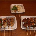 大吉 - 料理写真:串のおまかせ、おすすめチョイス