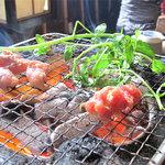 佐土野家 - 湯布院でタクシーの運転手さんに聞いた、人気の肉系ランチ2軒のうちの1軒です。