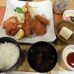Tonkatsukewaike - ホタテフライ膳
