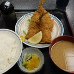 こじま食堂 - アジフライ定食