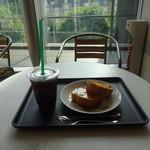 タリーズコーヒー - T's フレンチトースト メープルセット:570円