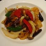 過門香 - 白身魚の北京式炒め