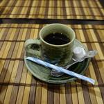 いけす割烹谷久 - おまけのコーヒー